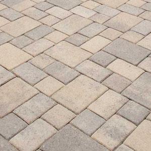 concrete pavers sidewalk